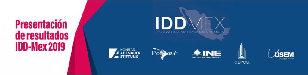 Presentación de resultados IDD-Mex 2019
